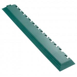 Afwerkrand voor 7 mm Pavilock kliktegels-met hoek groen