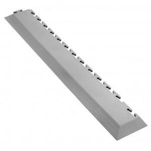 Afwerkrand voor 7 mm Pavilock kliktegels-met hoek grijs