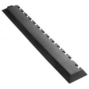 Afwerkrand voor 7 mm Pavilock kliktegels-met hoek zwart