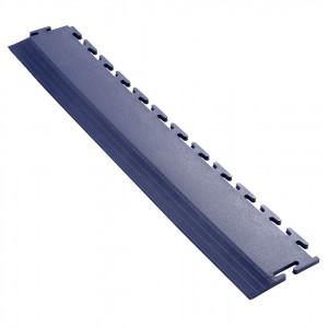 Afwerkrand voor 7 mm Pavilock kliktegels recht blauw
