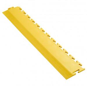 Afwerkrand voor 7 mm Pavilock kliktegels recht geel