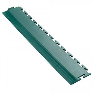 Afwerkrand voor 7 mm Pavilock kliktegels recht groen