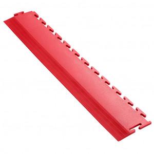 Afwerkrand voor 7 mm Pavilock kliktegels recht rood