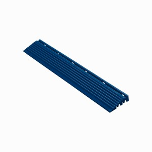 Afwerkrand recht voor 18mm kliktegels donkerblauw