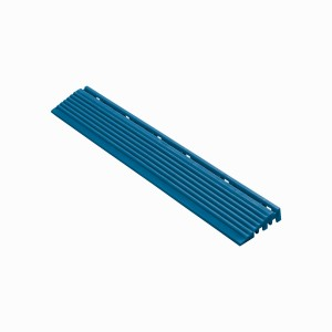 Afwerkrand recht voor 18mm kliktegels blauw
