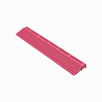 Afwerkrand recht voor 18mm kliktegels pink