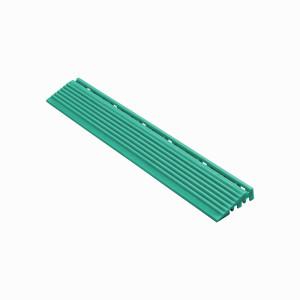Afwerkrand recht voor 18mm kliktegels turquoise