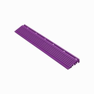 Afwerkrand recht voor 18mm kliktegels violet