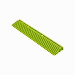 Afwerkrand recht voor 18mm kliktegels limette