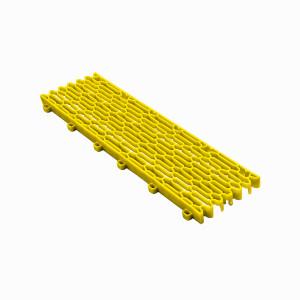 Expansieprofiel voor 18mm kliktegels recht geel