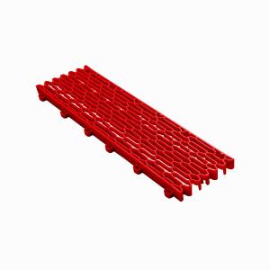 Expansieprofiel voor 18mm kliktegels recht rood