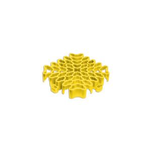 Expansieprofiel voor 18mm kliktegels hoekstuk geel
