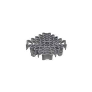 Expansieprofiel voor 18mm kliktegels hoekstuk grijs-alu