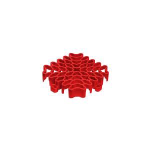 Expansieprofiel voor 18mm kliktegels hoekstuk rood