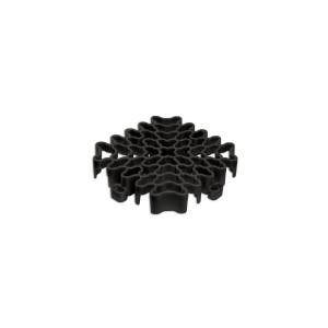 Expansieprofiel voor 18mm kliktegels hoekstuk zwart