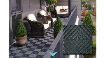 De make-over van een balkonvloer