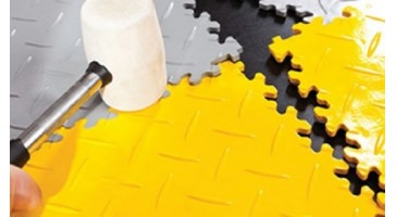 Los legbare vloer uit pvc kliktegels