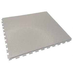 Garagevloer pvc kliktegel RL boomschorsstructuur 10 mm grijs