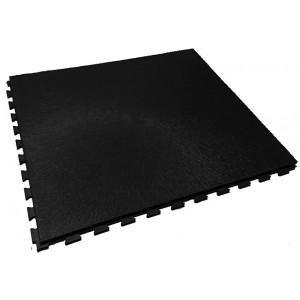 Garagevloer pvc kliktegel RL boomschorsstructuur 10 mm zwart