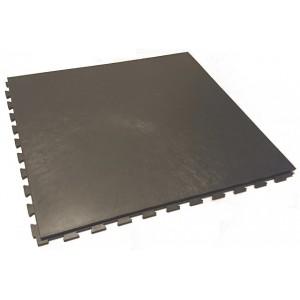 Garagevloer pvc kliktegel GL vloeilijnstructuur 10 mm antraciet