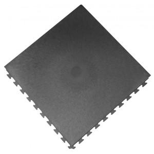 Werkplaatsvloer pvc kliktegel waterdicht 10 mm antraciet