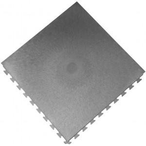 Werkplaatsvloer pvc kliktegel waterdicht 10 mm grijs
