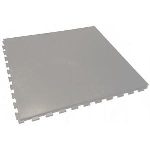 Garagevloer pvc kliktegel GL vloeilijnstructuur 10 mm grijs