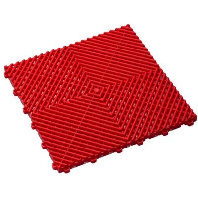 Balkonvloeren rood