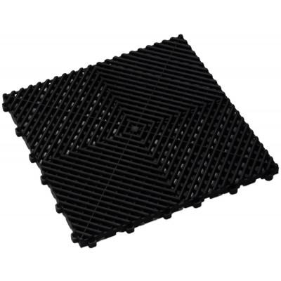 Balkonvloeren zwart