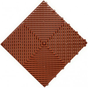 Beursstand-vloer Indoor & Outdoor terracotta