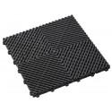Garagevloer open structuur zwart