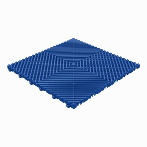 Restpartij 35 m² kliktegels open structuur 18 mm blauw