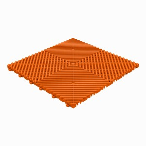 Garagevloer BoDeck ronde rib oranje