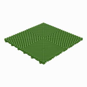 Garagevloer BoDeck ronde rib groen