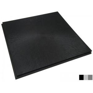 Horecavloer BoFix 10 mm pvc lip-lastegel GL vloeilijnstructuur zwart