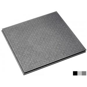 Antislip lip-lastegel R13-V6-structuur grijs
