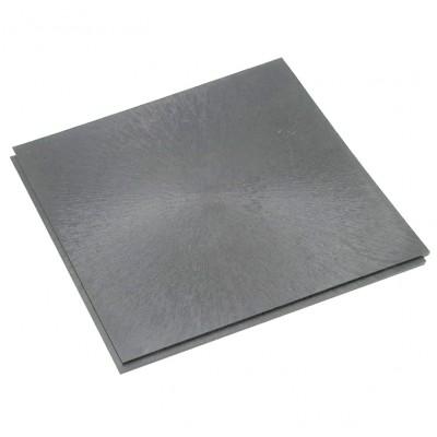 Horecavloer pvc lip-lastegel 10 mm vloeilijnstructuur grijs