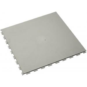 Fitnessvloer kliktegel 7 mm grijs