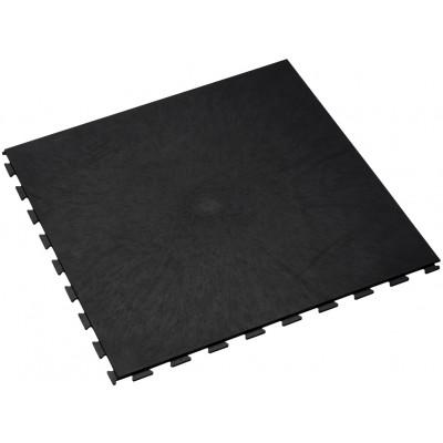 Fitnessvloer 7 mm zwart