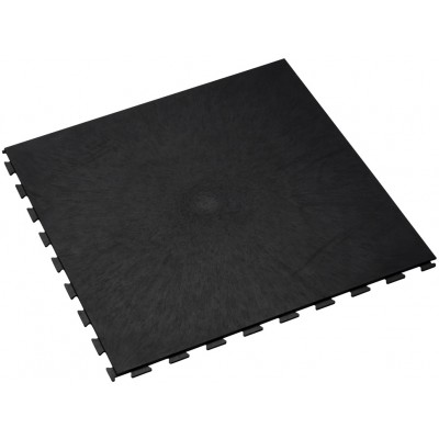 Aanbieding-Fitnessvloer-Kliktegel 7 mm-zwart
