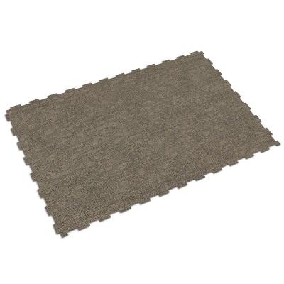 Bedrijfsvloer kliktegel geweven textiel