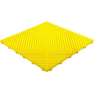Galerijvloer BoGrid vlak geel