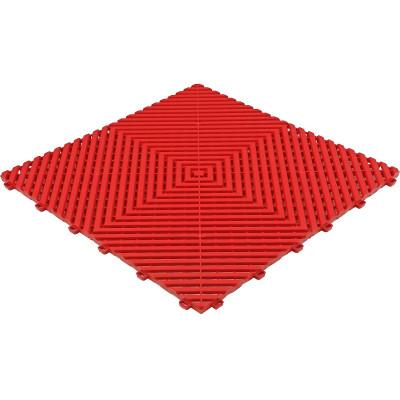 Galerijvloer BoGrid vlak rood