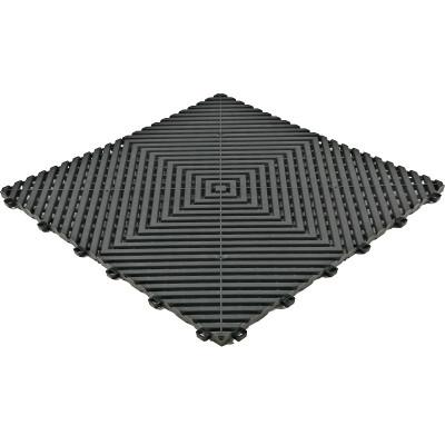 Galerijvloer BoGrid vlak zwart