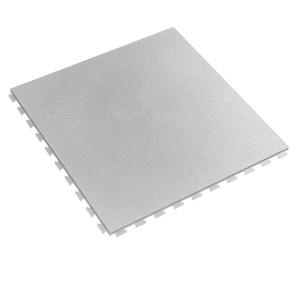 RESTPARTIJ ca.120 m2  pvc kliktegel GL vloeilijnstructuur 7 mm licht-grijs