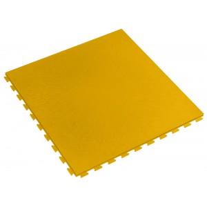Restpartij ca. 26 m2 pvc kliktegel 7 mm geel