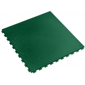Garagevloer waterdicht; kliktegel 7 mm groen