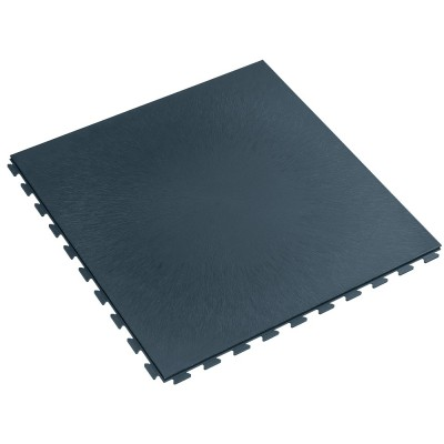 Bedrijfsvloer waterdicht; kliktegel 7 mm donkergrijs