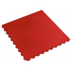 Werkplaatsvloer waterdicht; kliktegel 7 mm rood