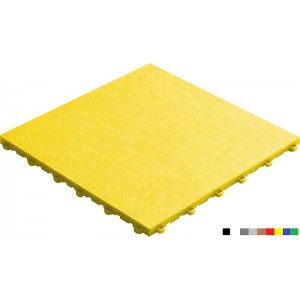 Garagevloer BoPelle 18 mm geel
